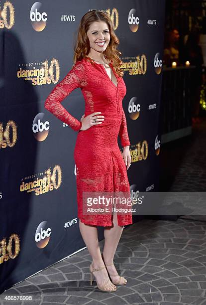 Professional dancer Anna Trebunskaya attends the premiere of ABC's 'Dancing With The Stars' season 20 at HYDE Sunset Kitchen Cocktails on March 16...