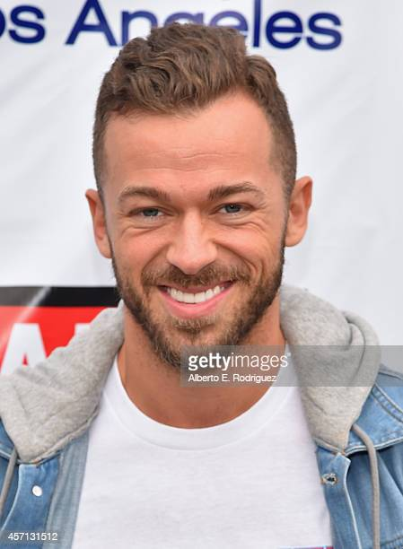 Professional dancer Artem Chigvintsev attends the 30th Annual AIDS Walk Los Angeles on October 12 2014 in West Hollywood California