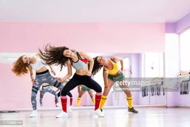 professional dancer class dancing in dancing studio - dancing stock pictures, royalty-free photos & images