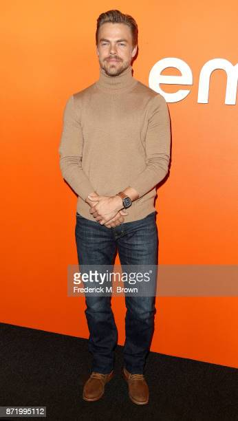 Professional Dancer Derek Hough attends Ember Launch Celebrating a Journey Through Temperature and Taste at Goya Studios on November 8 2017 in Los...