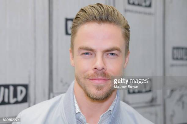 Professional dancer Derek Hough discusses the new show 'World of Dance' at Build Studio on June 5 2017 in New York City