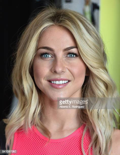 Professional dancer Julianne Hough attends Shape Magazine Launches Shape Body Shop at Hudson Loft on June 18 2016 in Los Angeles California