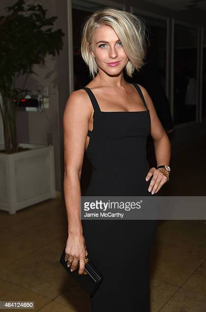 Professional Dancer Julianne Hough attends the Grey Goose hosted Michael Sugar Doug Wald and Warren Zavala preoscar party at Sunset Tower on February...