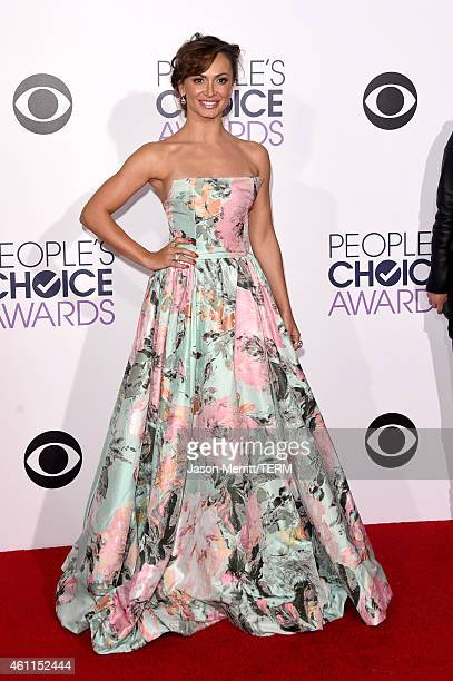 Professional dancer Karina Smirnoff attends The 41st Annual People's Choice Awards at Nokia Theatre LA Live on January 7 2015 in Los Angeles...