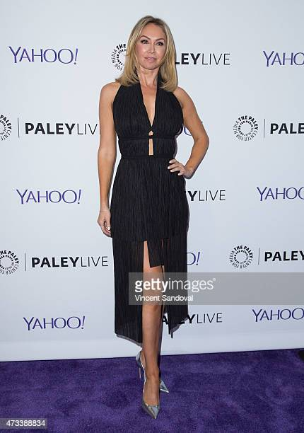 Professional dancer Kym Johnson attends PaleyLive 'An Evening With Dancing With The Stars' at The Paley Center for Media on May 14 2015 in Beverly...