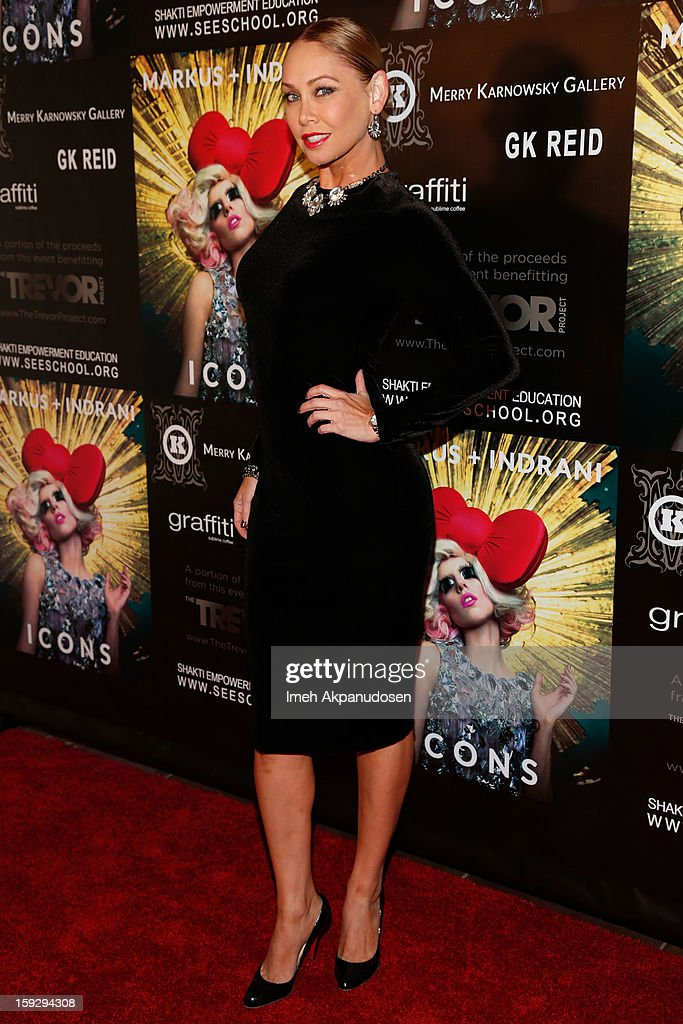 Professional dancer Kym Johnson attends the Markus + Indrani ICONS Book Launch Party at Merry Karnowsky Gallery on January 10, 2013 in Los Angeles, California.