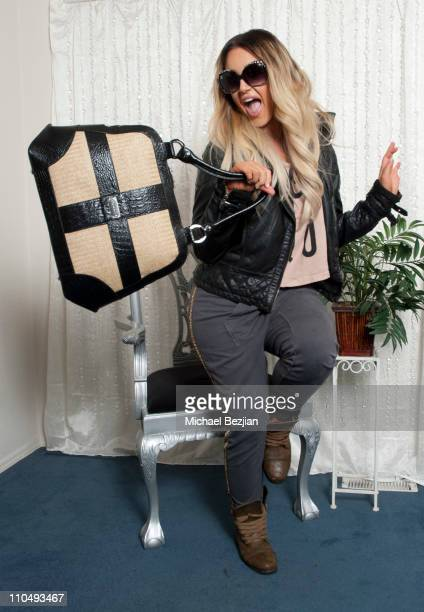 Professional dancer Lacey Schwimmer attends the Gifting Services Suite Honoring Dancing With The Stars Day 1 at CBS Studios on March 20 2011 in Los...