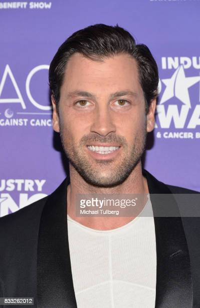 Professional dancer Maksim Chmerkovskiy attends the 2017 Industry Dance Awards and Cancer Benefit Show at Avalon on August 16 2017 in Hollywood...