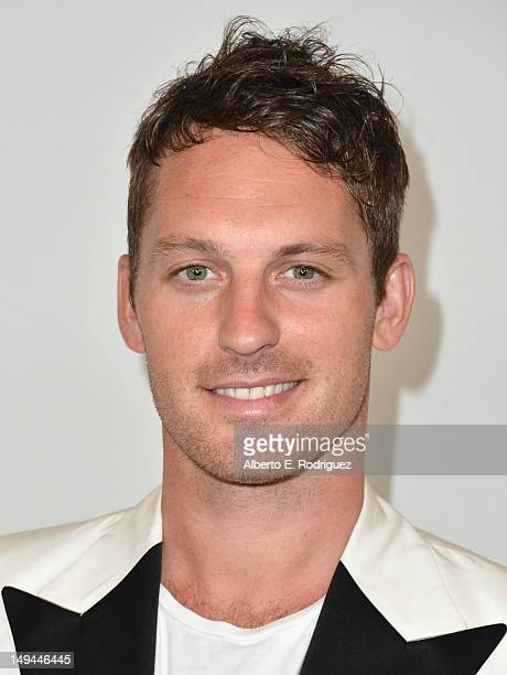Professional dancer Tristan McManus arrives to the Disney ABC Television Group's 2012 TCA Summer Press Tour on July 27 2012 in Beverly Hills...