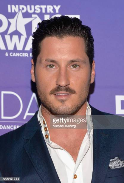 Professional dancer Val Chmerkovskiy attends the 2017 Industry Dance Awards and Cancer Benefit Show at Avalon on August 16 2017 in Hollywood...