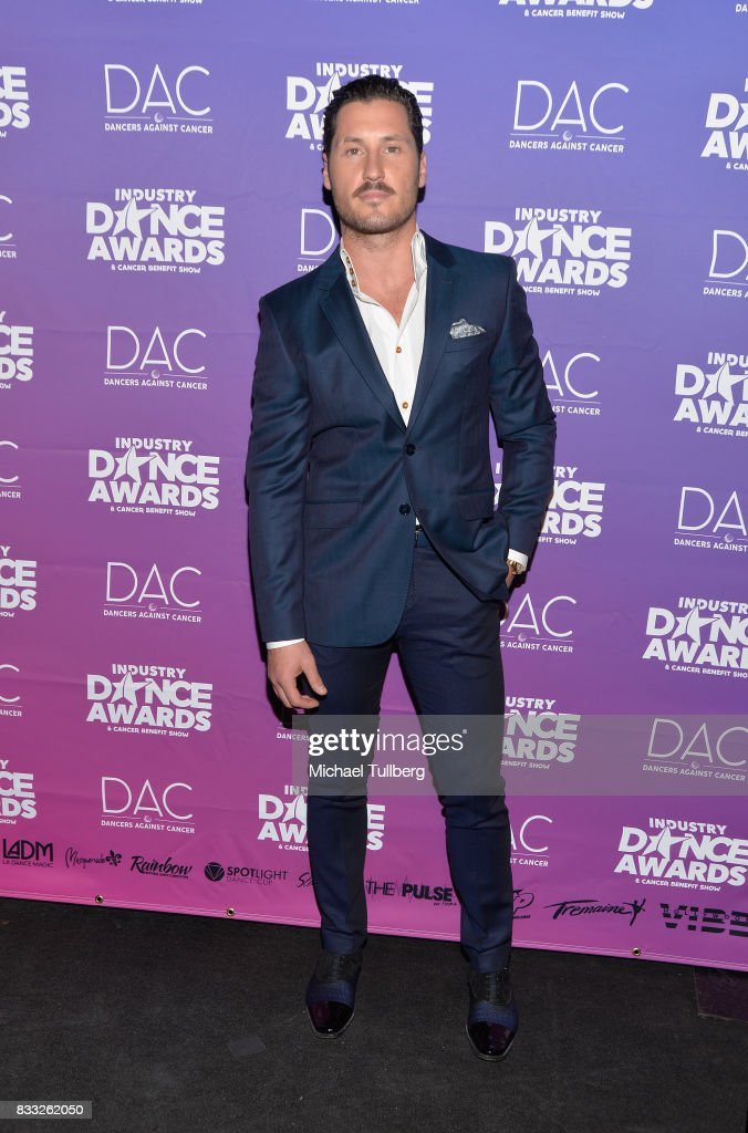 Professional dancer Val Chmerkovskiy attends the 2017 Industry Dance Awards and Cancer Benefit Show at Avalon on August 16, 2017 in Hollywood, California.