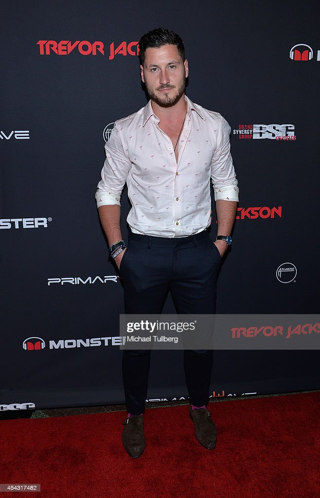 Professional dancer Val Chmerkovskiy attends Trevor Jackson's Monster 18th Birthday Party at El Rey Theatre on August 28, 2014 in Los Angeles, California.