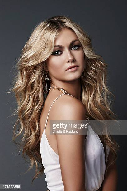 Professional dancers and cast members of the reality competition show 'Dancing with the Stars' Lindsay Arnold is photographed for Us Weekly on May 23...