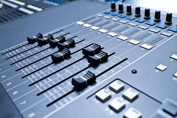 Professional Digital Sound And Recording Console Wall Art