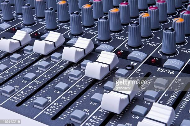 プロフェッショナルデジタルサウンドコンソール、および記録