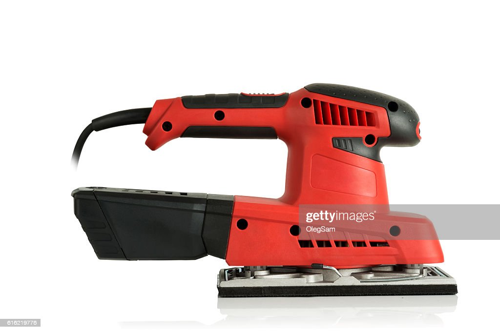 professional finishing sander : Stock Photo