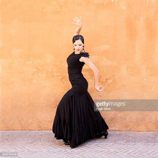 professional flamenco dancers. spain - hugh sitton stock-fotos und bilder