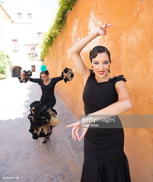 professional flamenco dancers. spain - hugh sitton stock pictures, royalty-free photos & images