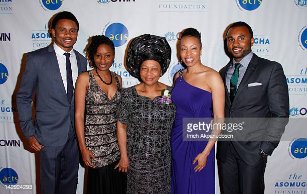 Professional football player and Chairman of the Asomugha Foundation Nnamdi Asomugha Udodirim Asomugha Founder and President of Orphans and Widows In...