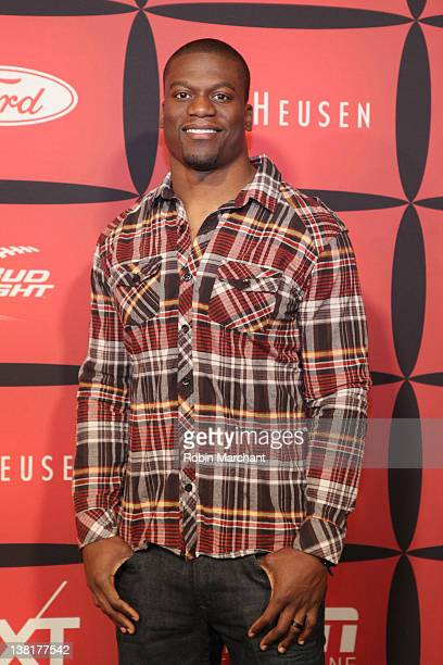 Professional football player Ben Watson attends ESPN The Magazine's NEXT Event on February 3 2012 in Indianapolis Indiana