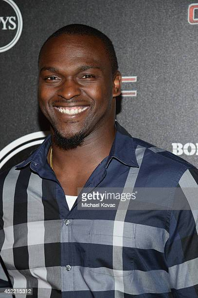 Professional football player Cliff Avril attends the Body at ESPYS PreParty at Lure on July 15 2014 in Hollywood California