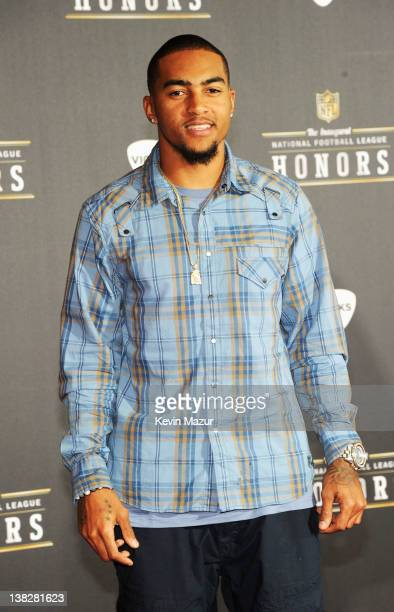 Professional Football Player DeSean Jackson attends the 2012 NFL Honors at the Murat Theatre on February 4 2012 in Indianapolis Indiana