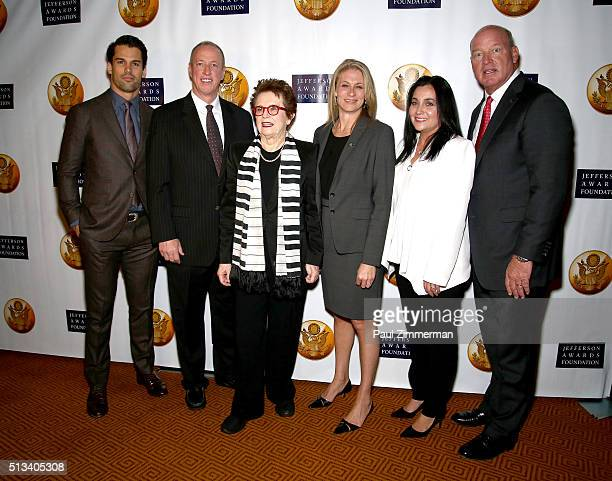 Professional Football Player Eric Decker former professional Football Player Jim Kelly former professional Tennis Player Billy Jean King Executive...