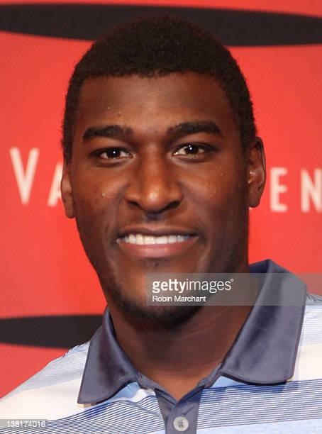 Professional football player Justin Blackmon attends ESPN The Magazine's NEXT Event on February 3 2012 in Indianapolis Indiana