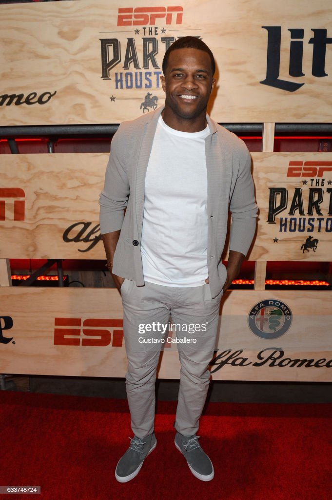 Professional football player Randall Cobb attends the 13th Annual ESPN The Party on February 3, 2017 in Houston, Texas.