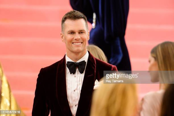 Professional football player Tom Brady attends The 2019 Met Gala Celebrating Camp: Notes on Fashion at Metropolitan Museum of Art on May 6, 2019 in...