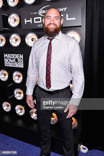 Professional football player Travis Brown attends the Bud Light Madden Bowl at The Bud Light Hotel on January 30 2014 in New York City