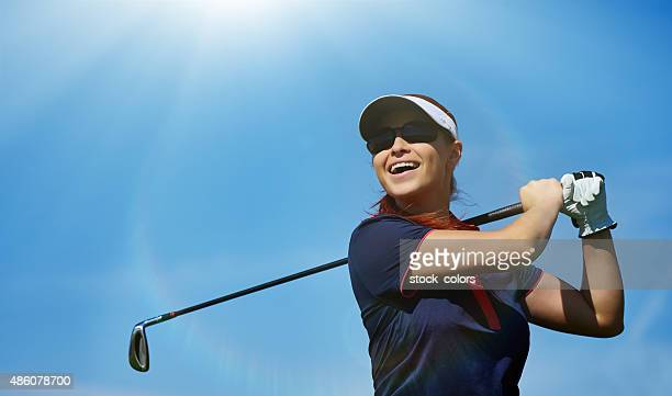 professional golf swing
