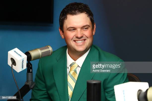 Professional golfer and winner of the 2018 Masters tournament Patrick Reed visits the SiriusXM Studios on April 10 2018 in New York City