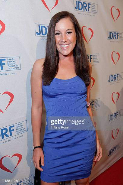 Professional golfer Carling Coffing attends the Juvenile Diabetes Research Foundation's 8th Annual Gala Finding A Cure A Love Story at the Beverly...