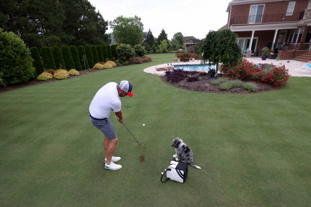 VA: Pro Golfer Marc Leishman Trains During Coronavirus Pandemic