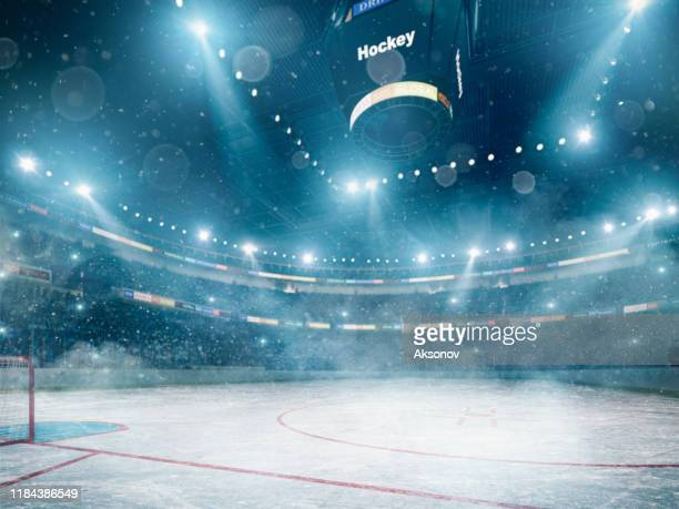 professional hockey arena - hockey player stock pictures, royalty-free photos & images