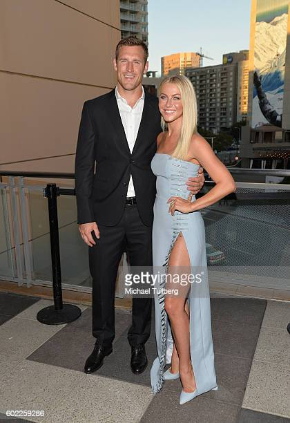 Professional hockey player Brooks Laich and professional dancer Julianne Hough attend the 6th Annual Celebration of Dance Gala presented by The Dizzy...