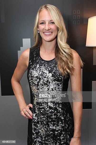 Professional Ice Hockey Player Brianne McLaughlin attends the Samsung Galaxy Backstage Lounge at Mercedes-Benz Fashion Week Spring 2015 at Lincoln...