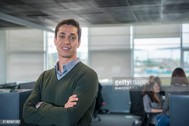 Professional man in office