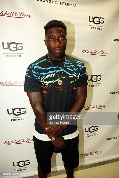 BMX professional Nigel Sylvester attends the Grungy Gentleman fashion show at The Supermarket during New York Fashion Week Men's S/S 2016 on July 15...