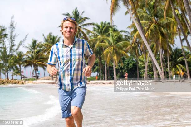 Professional offshore yacht racer Francois Gabart is photographed for Paris Match in Guadeloupe on November 12 2018