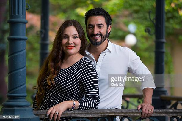 Professional opera singers Ekaterina Siurina and Charles Castronovo are also husband and wife in real life