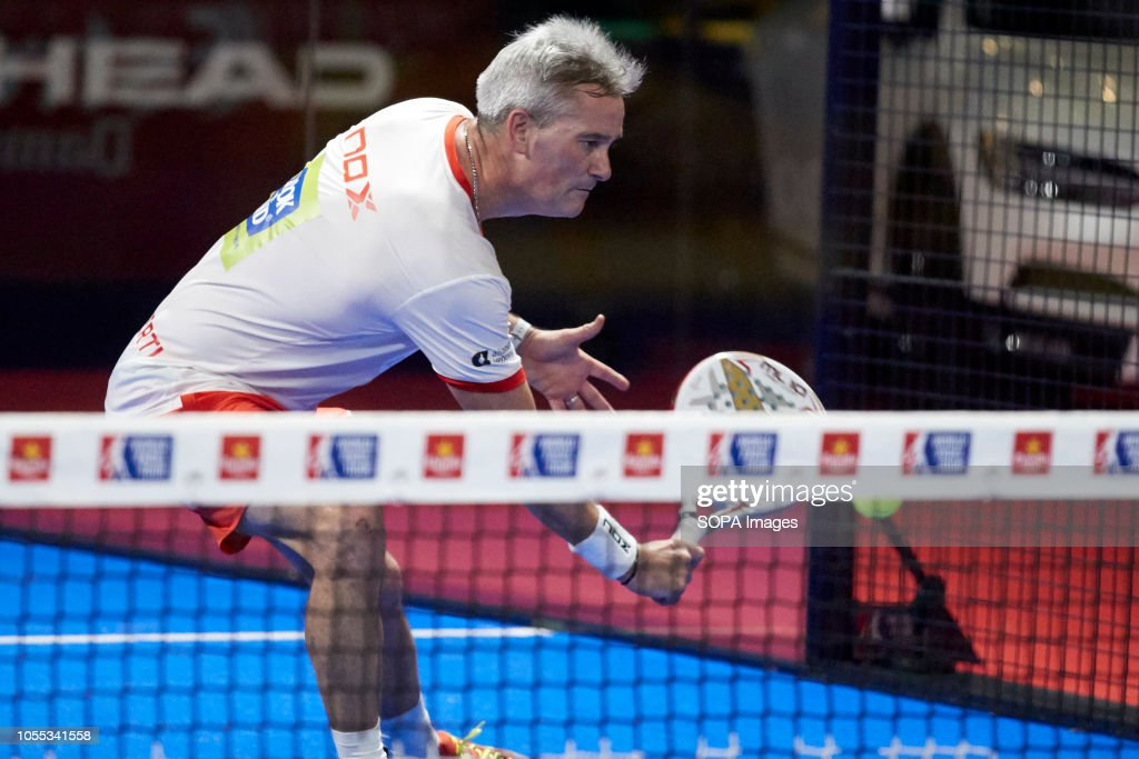 Professional Paddle Player Miguel Lamperti Seen During The World