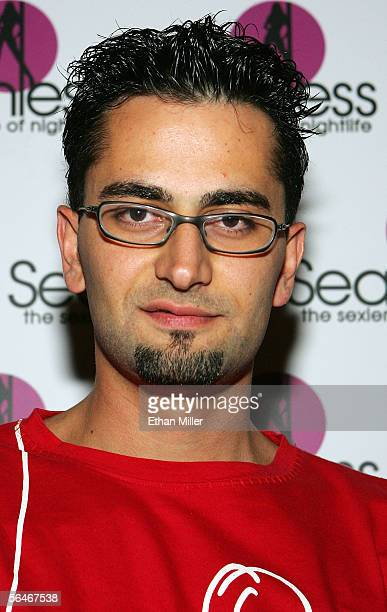 Professional poker player Antonio The Magician Esfandiari arrives at the grand opening of the Seamless Adult Ultra Lounge early December 18 2005 in...