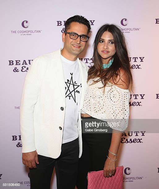 Professional poker player Antonio 'The Magician' Esfandiari attends the grand opening of Beauty Essex at The Cosmopolitan of Las Vegas on May 14 2016...