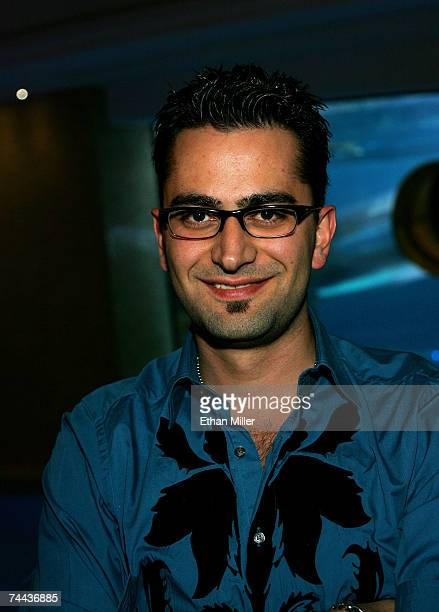 Professional poker player Antonio 'The Magician' Esfandiari attends 'The Grand' after party at the Golden Nugget Hotel Casino during the CineVegas...