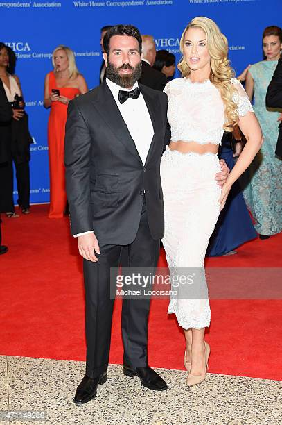 Professional poker player Dan Bilzerian and a guest attend the 101st Annual White House Correspondents' Association Dinner at the Washington Hilton...