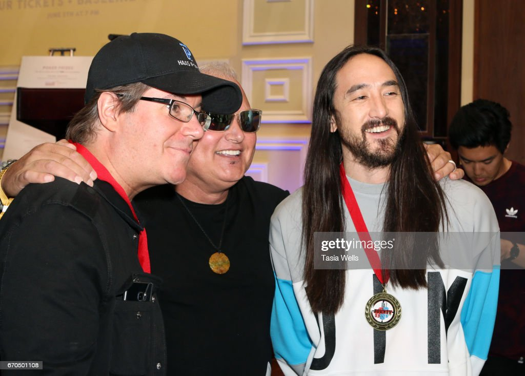 Linkin Park's Music For Relief - Charity Poker Tournament : News Photo