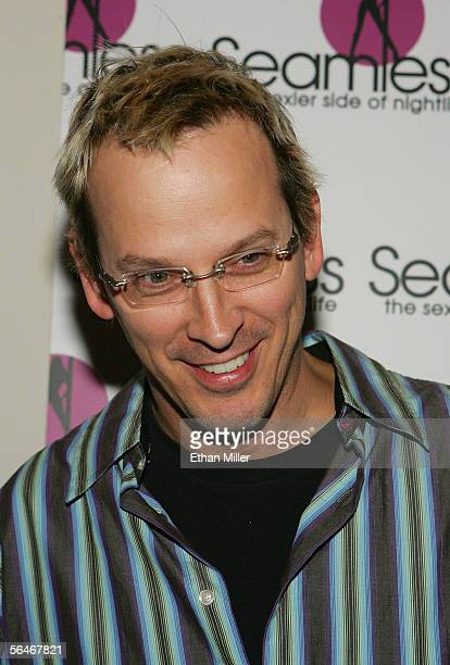 Professional poker player Phil The Unabomber Laak arrives at the grand opening of the Seamless Adult Ultra Lounge early December 18 2005 in Las Vegas...