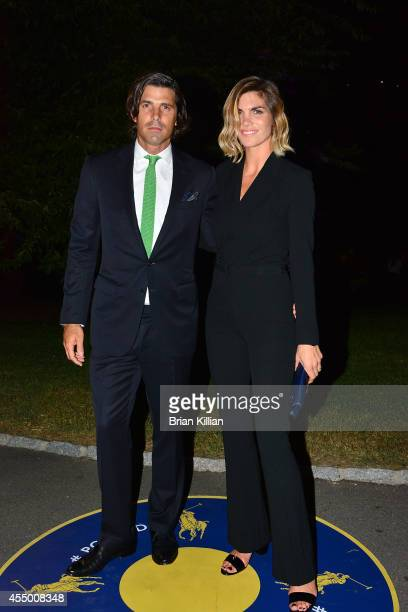 Professional polo player Nacho Figueras and model Delfina Blaquier attend Polo Ralph Lauren For Women during MercedesBenz Fashion Week Spring 2015 at...
